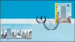 UNO NEW YORK 2007 Mi-Nr. U 17 A Ganzsache Umschlag Gestempelt EST - Briefe U. Dokumente