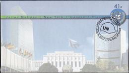 UNO NEW YORK 2007 Mi-Nr. U 18 A Ganzsache Umschlag Gestempelt EST - Briefe U. Dokumente