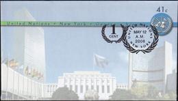UNO NEW YORK 2008 Mi-Nr. U 19 A Ganzsache Umschlag Gestempelt EST - Briefe U. Dokumente