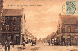 DE PANNE (W. Vl.) Dorp - Village - Route De Turnes - Arrêt Du Tram - Tram Halte - Ed. V. D. Heuvel - De Panne