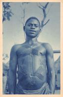 BÉNIN - Province De L'Est - Beau Type De Cabrais Avec Scarifications - Ed. Missions Africaines - Benin
