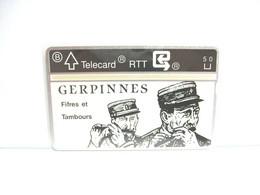 GERPINNES TELECARD RTT CARTE DE TELEPHONE FIFRES ET TAMBOURS - Unclassified