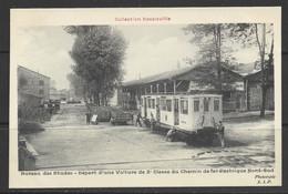 Carte P ( Chemin De Fer Decauville / Départ D'une Voiture ) - Treni