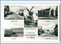 XX13330-2935/ Bockhorn  Windmühle, Schule, Bahnhofstr. AK Ca.1960 - Non Classés