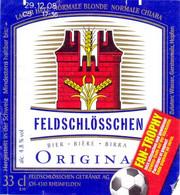 Etiket Etiquette - Bier Bière Cerveza Beer - Feldschlösschen - Rheinfelden - Birra