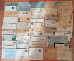 France -Lot De 47 Lettres Guerre 14- 18 : Censures , Prisonniers , Hopitaux ,etc...- DEPART 1 EURO - 1877-1920: Période Semi Moderne