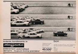 Publicité Papier VOITURE DAF DAFFODIL  1965 PIP1058978 - Werbung