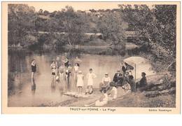 89 . N° 49229 . Trucy Sur Yonne . La Plage - Andere Gemeenten