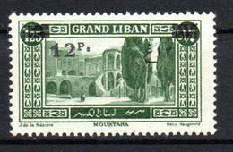 Col23 Grand Liban  N° 81 Neuf X MH Cote 2,00 Euro - Unused Stamps