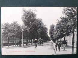 50 ,cherbourg, L'avenue Carnot En 1908 - Cherbourg