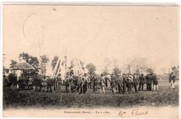 CPA 59 : STEENWOORDE - Tir à L'arc - Ed. Berger - 1921 - Jeu, Sport - Précurseur Dos Non Divisé Avant 1904 - Steenvoorde