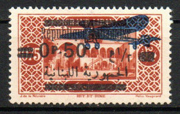 Col23 Grand Liban PA N° 38 Neuf X MH Cote 1,00 Euro - Airmail