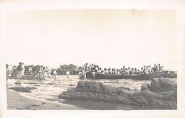 AGADIR - Le Débarquement De La 13ème Compagnie Marocaine - CARTE PHOTO Juillet 1913 - Ed. E. Fouyssat - Agadir
