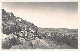 AGADIR - Le Débarquement - CARTE PHOTO Juillet 1913 - Ed. E. Fouyssat - Agadir