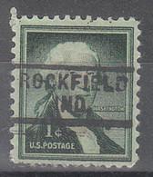 USA Precancel Vorausentwertungen Preos, Locals Indiana, Rockfield 729 - Vorausentwertungen