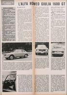 Article Papier VOITURE ALFA ROMEO GIULIA 1600 T 1965 PIP1058926 - Ohne Zuordnung