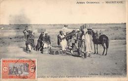 MAURITANIE - Préparatifs De Départ D'une Caravane à Porteurs - Ed. L. Penel - Mauritanie