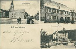 AK Sulzburg Hauptstraße, Geschäftshaus, Genesungsheim (6-664) - Other