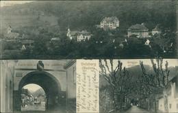 AK Sulzburg Teilansicht, Partie Vom U. Tor Gesehen, Kriegerdenkmal (6-666) - Other