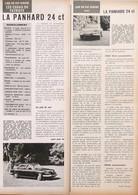 Article Papier VOITURE PANHARD 24 CT 1965 PIP1058932 - Non Classés