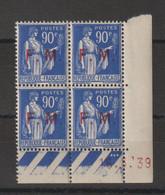 France Coin Daté 1939 FM 10 ** MNH - Sonstige