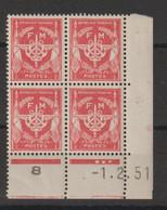 France Coin Daté 1951 FM 12 ** MNH - Otros
