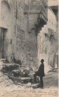 V1- CONSTANTINE (ALGERIE)  MAISONS ARABES   -  (ANIMEE - HABITANT- 2 SCANS ) - Konstantinopel