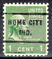 USA Precancel Vorausentwertungen Preos, Locals Indiana, Rome City 717 - Precancels