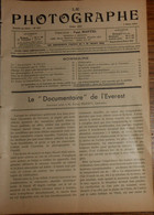 Le Photographe. 5 Mars 1934. N° 357. - 1900 - 1949