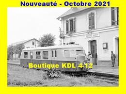 AL 733 - Autorail Billard A 80 D N° X 246 En Gare - TREIGNAC - Corrèze - POC - Treignac