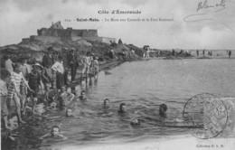 SAINT-MALO - La Mare Aux Canards - Le Fort National - Animé - Précurseur - Saint Malo