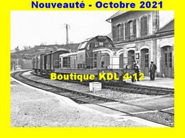 AL 751 - Train MV, Loco BB 66286 En Gare De FELLETIN - Creuse - SNCF - Felletin