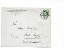 Ganzsachenbrief Aus Berlin 1926 - Cartas