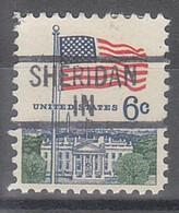 USA Precancel Vorausentwertungen Preos, Locals Indiana, Sheridan 839 - Precancels