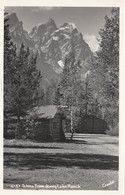 Tetons From Jenny Lake Ranch Wyoming Real Photo Postcard RPPC - Other