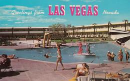 Las Vegas Nevada - Dunes Hotel Swimming Pool Used 1963 - Las Vegas