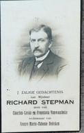DOODPRENTJE - RICHARD STEPMAN  (° NOKERE   1856   /+ CASTER   1927 ) (dp 276 ) - Overlijden