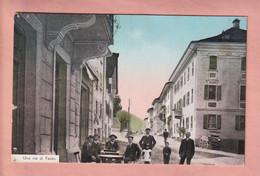 OUDE POSTKAART - ZWITSERLAND -       FAIDO - ANIMATED - TI Ticino
