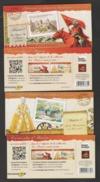 """FRANCE / 2012 / Y&T N° AA 714/737 ** En BC Ou BC714 + BC726 ** : Les 2 Carnets """"Châteaux"""" (24 TVP LP) - Conmemorativos"""