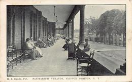 CLIFTON SPRINGS (NY) Sanitarium Veranda - Publ. H. S. Bundy - Andere