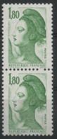 N° 2375 Type Liberté Variété Absence De Perforation. Neuf Sans Charnière ** MNH. TB - Varieties: 1980-89 Mint/hinged