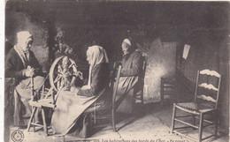 89. SAINT BENOIT DU SAULT (ENVOYE DE). CPA. LES HABITATIONS DU BORD DU CHER. LE ROUET . ANNEE 1909 + TEXTE - Landwirtschaftl. Anbau