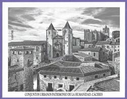 España. Spain. 2021. HB. Conjuntos Urbanos Patrimonio De La Humanidad. Cáceres - 2011-2020 Nuevos & Fijasellos