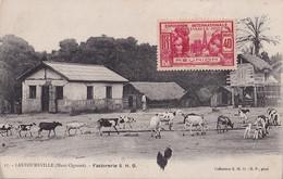 V17- LASTOURSVILLE (GABON - HAUT OGOOUE)  FACTORERIE S.H.O. - ( ANIMEE ) - Gabon