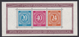 Zona AAS, 1947 Michel. Block 12 A, MNH. - Zone AAS