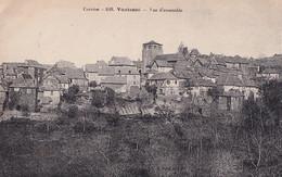 A23-19) VOUTEZAC (CORREZE) VUE D'ENSEMBLE - ( 2 SCANS ) - Andere Gemeenten