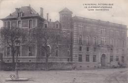 Clermont Ferrand Lycée Jeanne D'Arc Hôpital Temporaire 1915 - Clermont Ferrand