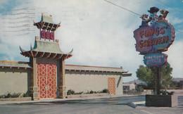 Las Vegas Nevada - Chinese Restaurant Fong's Garden Used 1960 - Las Vegas