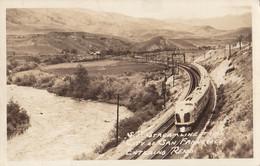 Reno NV - South Pacific Stream Line Train City Of San Francisco RPPC Used 1939 - Reno