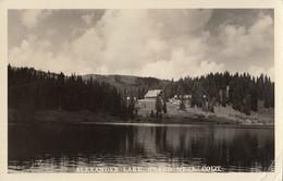 Alexander Lake Grand Mesa Colorado Real Photo Postcard RPPC 1939 - Other